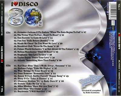 I Love Disco 80's - Vol.1 - Various Artists (2CD Set)