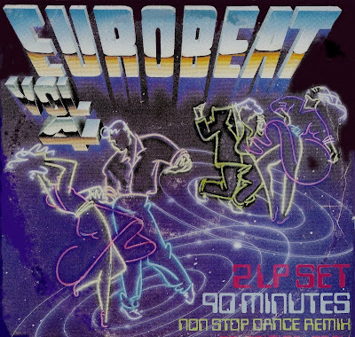 EUROBEAT - Volume 4 (90 Minute Non-Stop Dance Remix) (2LP Set) 1988 Various Artists Hi-NRG Italo Disco 80's Classic
