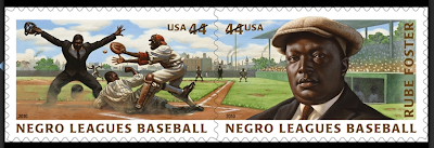 Stamps on Negro League Baseball
