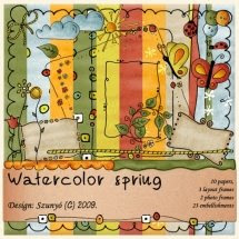 Kit: Watercolor Spring