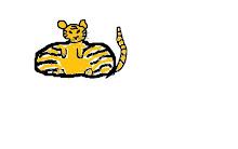 Diger Tiger av Ulrika