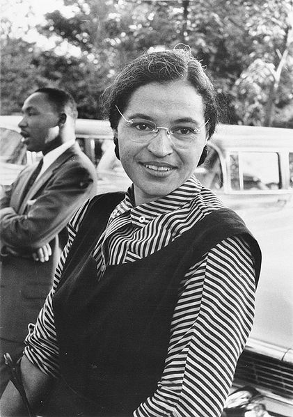 Rosa Parks and Elizabeth Jennings