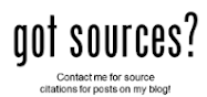 Sources are available for our blog posts