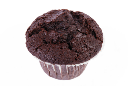 Helpful Health Hints: RECIPE - One Point Chocolate Muffins