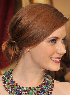 amy adam updo hair