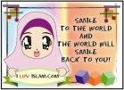 Tersenyumlah utk bahagia