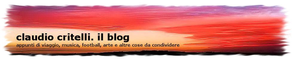 claudio critelli. il blog