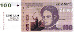 Juana Azurduy en los billetes de $ 100