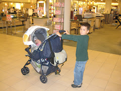 First shopping trip to the mall
