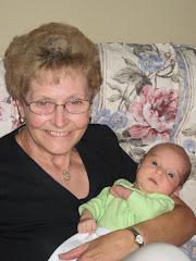 Grandma loves me...and I love her.