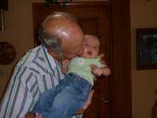 Grandpa stealing kisses too!