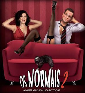 Filme Poster Os Normais 2 - A Noite Mais Maluca de Todas DVDRip Rmvb Dublado