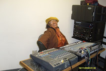 Alyce as Sound Engineer