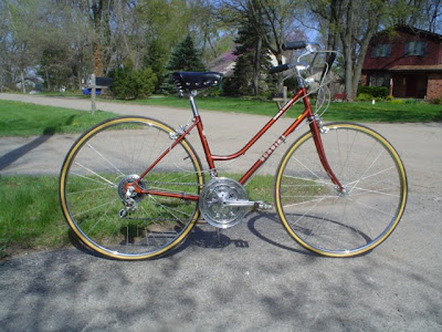 Hugh S Bicycle Blog Ladies Schwinn World Tourist