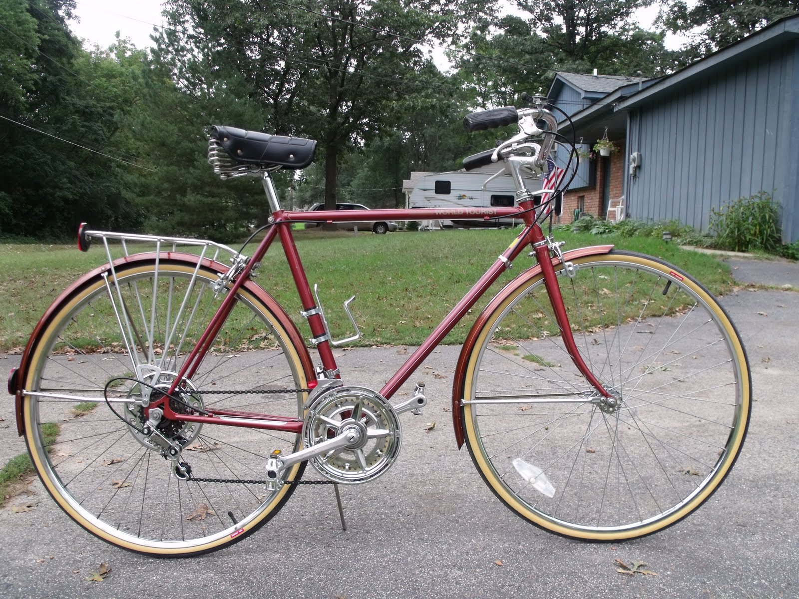Hugh S Bicycle Blog Schwinn World Tourist