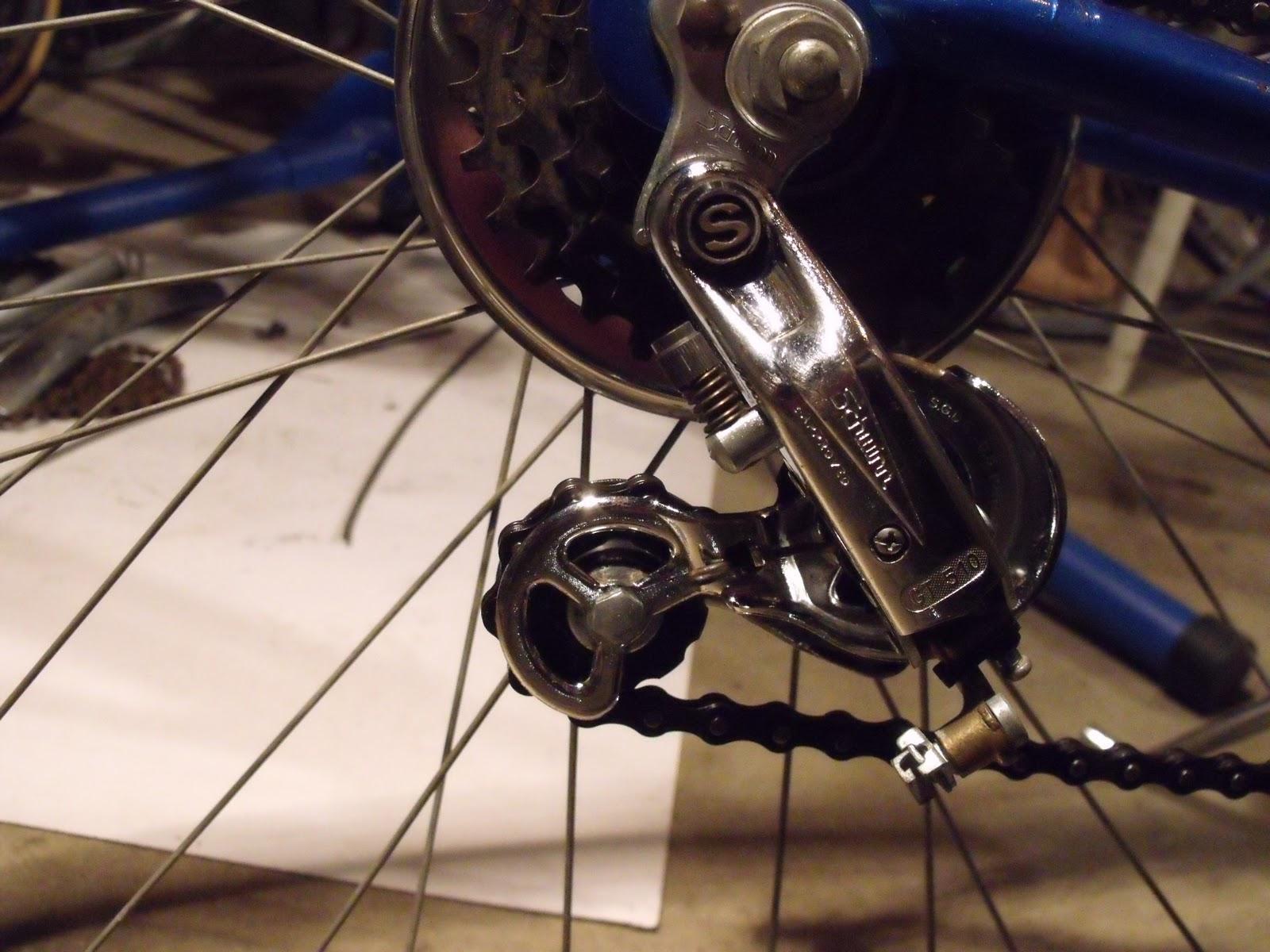 Schwinn Derailleur Parts : Hugh`s bicycle schwinn continental part