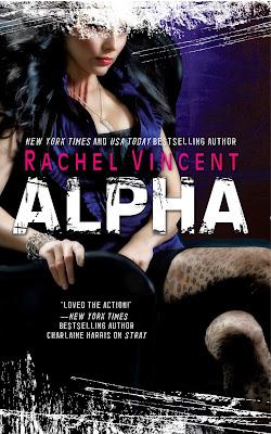 Cover Art – Alpha by Rachel Vincent
