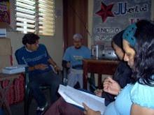 Los primeros pasos de la RAJULi. En la CONvoCAtoria para CONFORMAR la monTOnera