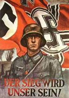 Carteles de propaganda de la II Guerra Mundial Derseigwirdunsersein
