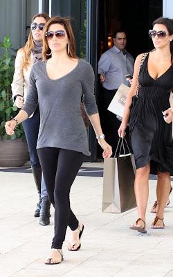 Eva Longoria & Kim Kardashian en Miami