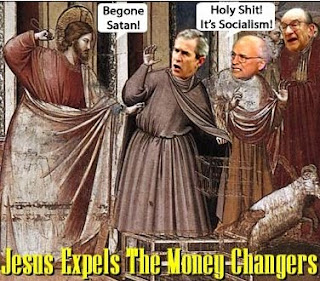 Jesus expels the money changers