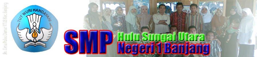 SMP Negeri 1 Banjang Kab. Hulu Sungai Utara