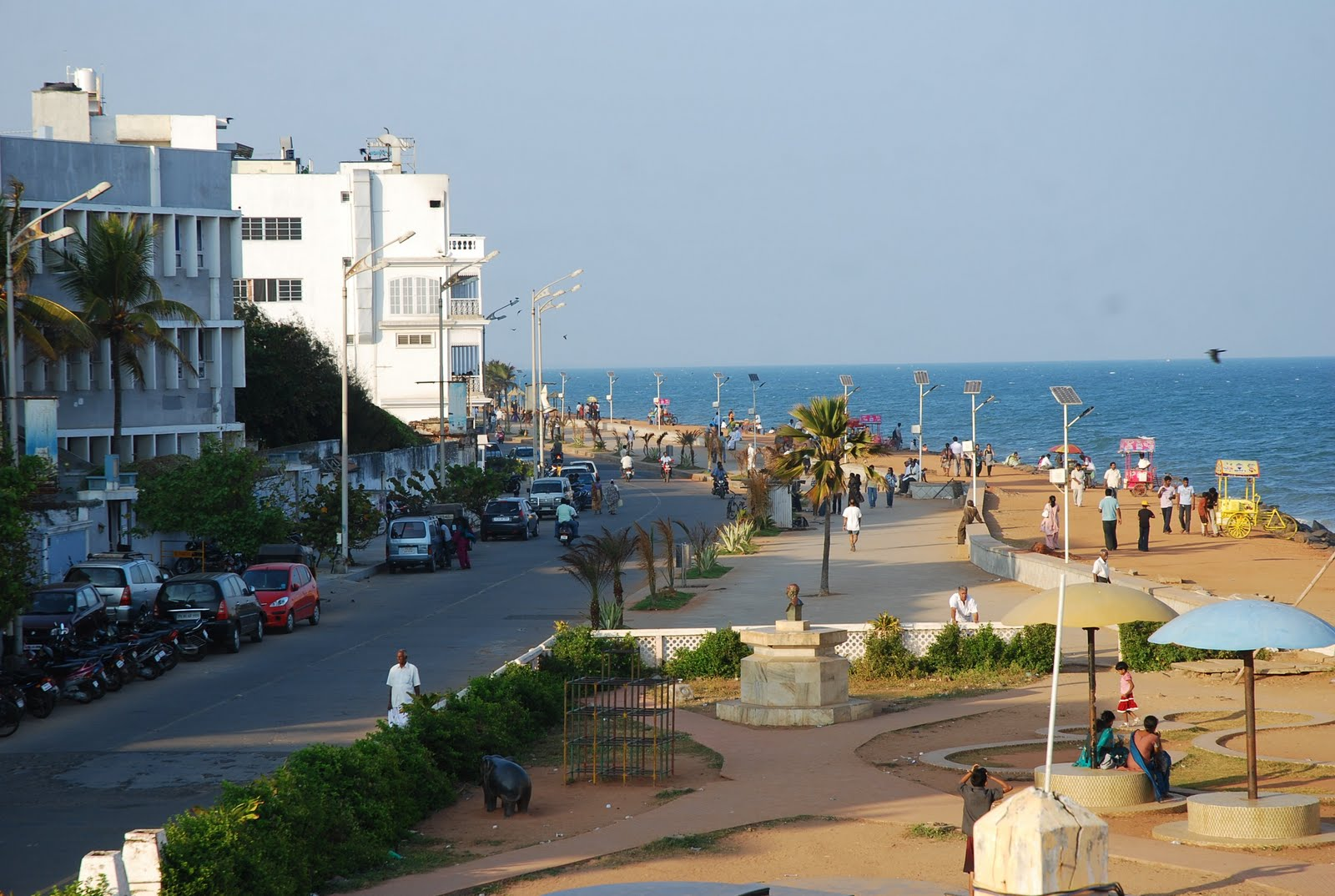 Pondicherry India  City new picture : Small Case Across India: France and India Intersect at Pondicherry