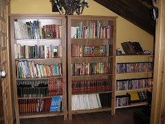 bibliotca en el atico