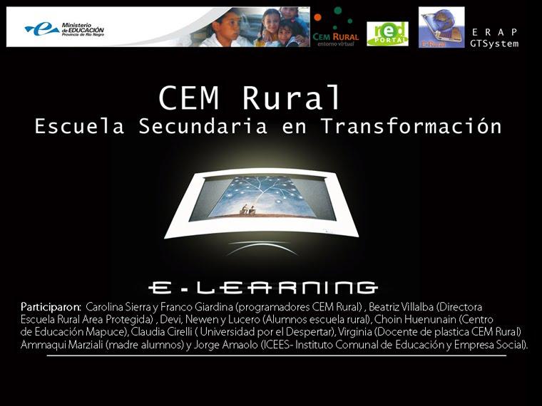 Seguimos colaborando en la Capacitacion y Puesta en Marcha del CEM Rural en Rio Negro