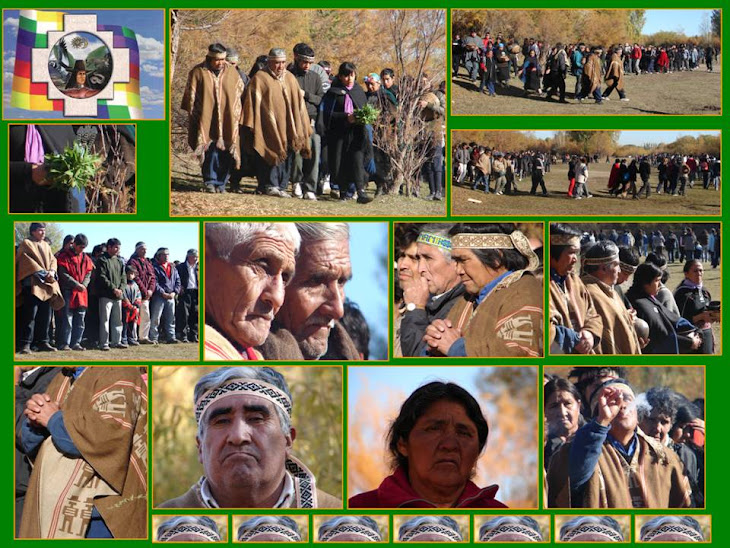 """Ceremonia para pedir por """"Un Buen Camino"""" hacia el encuentro de la Presidenta Cristina F. Kirchner"""