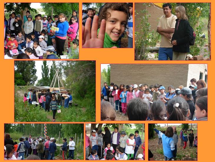Los niños de ERAP prepararon una clase para compartir con los niños de Tiro Federal (escuela 233)