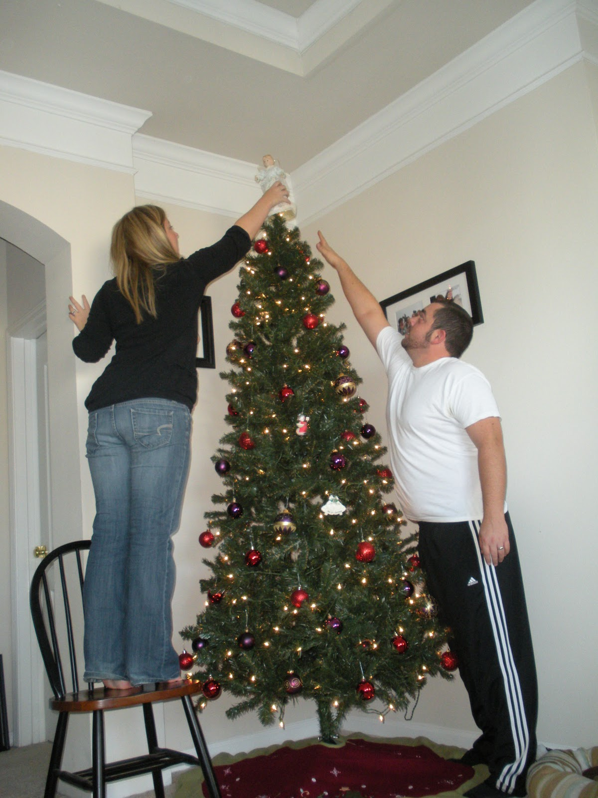 It Is What It Is: Our First Married Christmas Tree