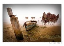 Barcas en Delta Ebre