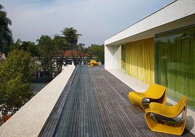 Classic Interior Design Panama House by Marcio Kogan