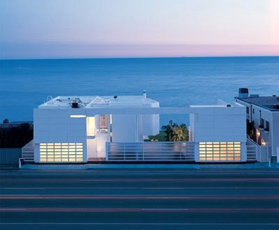 Modern White Beach House