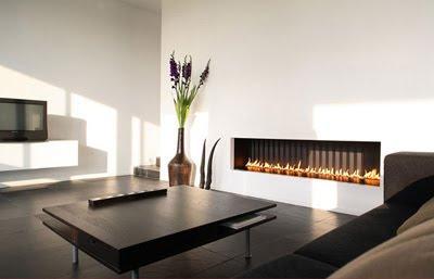 Modern Design Gas Fireplaces