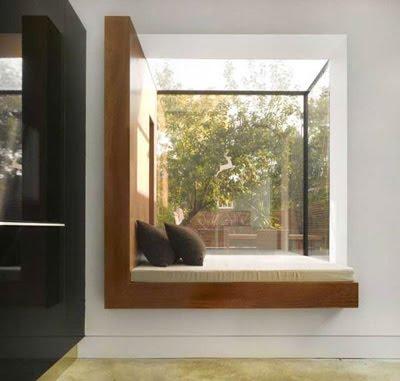 Modern Oriel Window