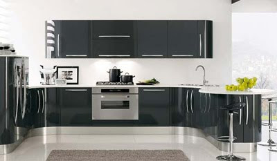 Venere Curved and Modern Kitchens Design