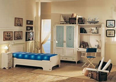 Interior Decoration Bed Furniture Design Theme The Sea