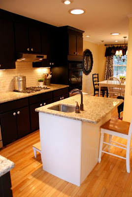 Black Kitchen Cabinets are Stylish