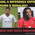 Qual a diferença entre o Ronaldo e o Bruno?