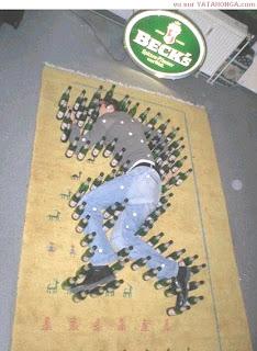 Bebida demais cerveja, vinho, whiskye, pinga, batidas, caipirinhas dá nisso, beber com amigos pode te deixar famoso aqui no Filhote de pombo