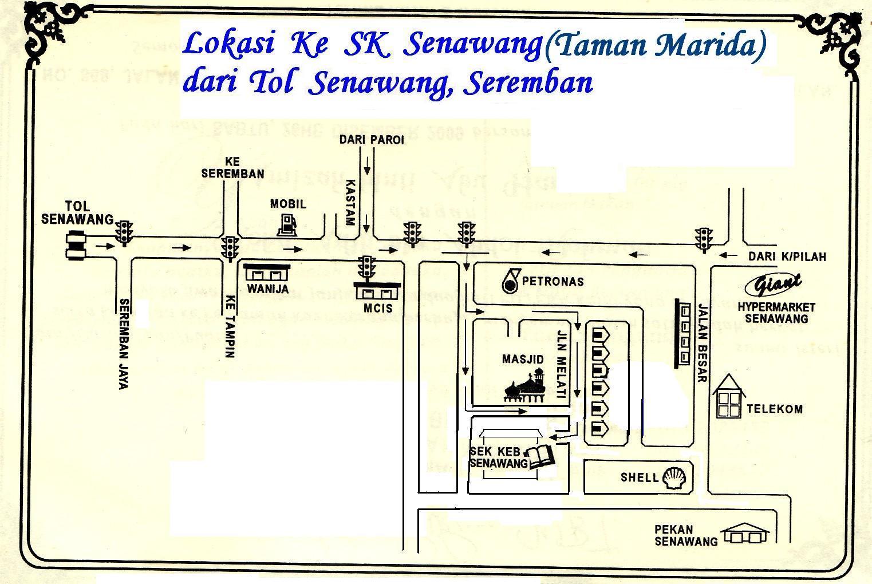 Lokasi ke SK Senawang