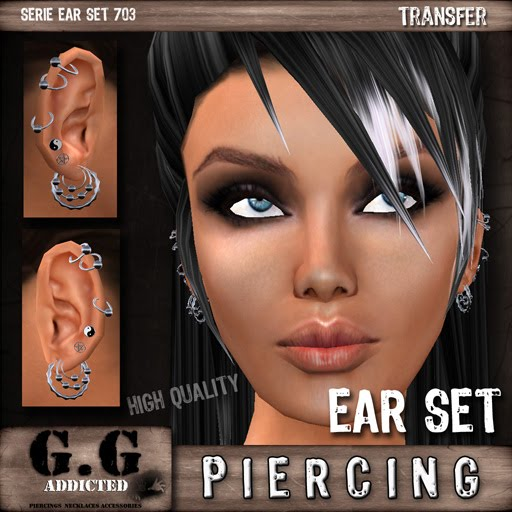 male ear piercing. male ear piercing.
