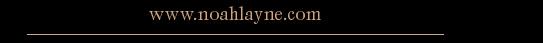 Noah Layne