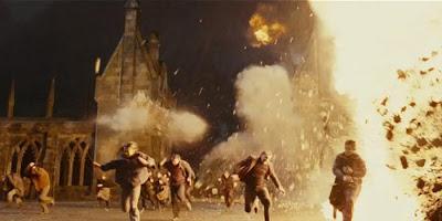 Explosão em Harry Potter e As Relíquias da Morte - parte 1