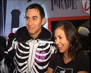 Donna Agnesia dan Darius Sinatriya tim futsal nasional dan artis selebritis indonesia