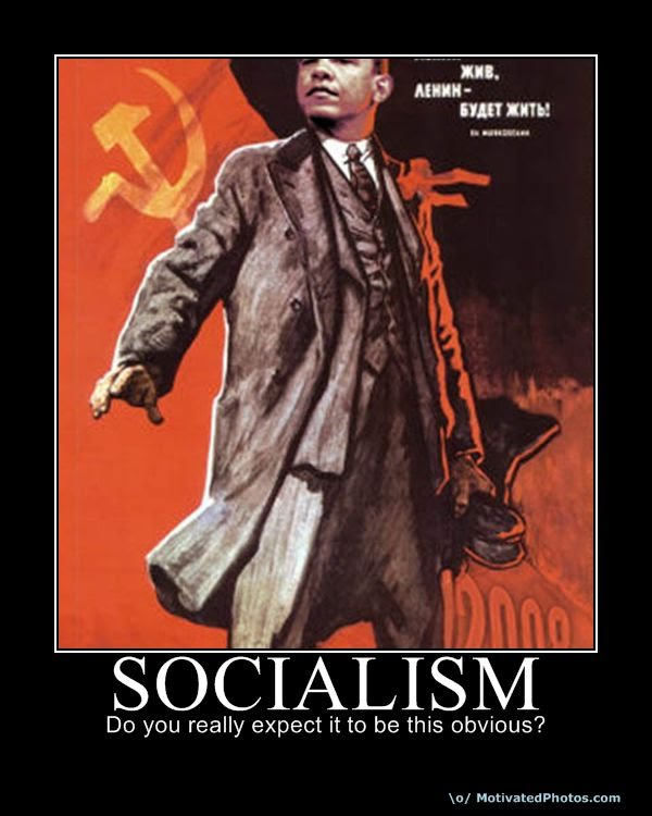 obama socialism obvious