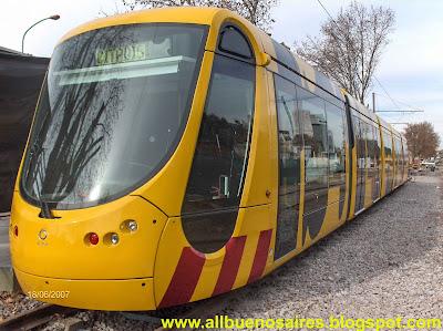 2007 : Un tramway pour Buenos Aires