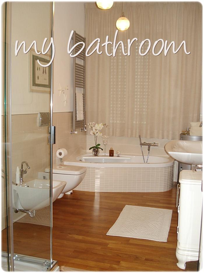 Mami g acciaio e parquet e il mio bagno - Parquet per bagno e cucina ...